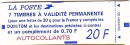 C 58 - FRANCE Carnet N° 1506 - Booklets