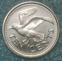 Barbados 10 Cents, 2009 - Barbados
