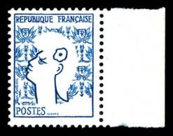 N°1282b, Marianne De Cocteau, Couleur Rouge Absente Bdf. TB  Qualité: **  Cote: 225 Euros - Abarten Und Kuriositäten