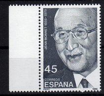 "Spain Espana 1988 100. Geburtstag Von Jean Monnet ""père"" De L'Europe MNH - Idee Europee"