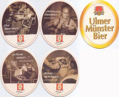 #D213-072 Reeks Viltjes Ulmer Münster - Sous-bocks