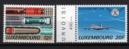 LUXEMBOURG 1988 TRANSPORTMINISTER KONFERENZ FLUGZEUG GÜTERZUG TANKLASTWAGEN Eurocontrol - Idee Europee