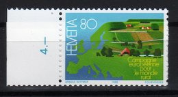 Suisse Helvetia 1988 Campagne Europeenne Pour Le Monde Rural MNH - Idee Europee