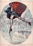 Nu - Femme Paysage Instantané -  Illustrateur HEROUARD  (gravure) - Illustrateurs & Photographes