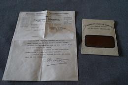 Superbe Ancien Document Publicitaire,courrier,Nestor Martin , Saint-Hubert,original 7/09/1917 - Publicités