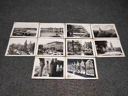 ANTIQUE LOT X 10 SMALL PHOTOS FRANCE - PARIS CITY VIEWS - 35mm -16mm - 9,5+8+S8mm Film Rolls