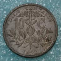 Bolivia 10 Centavos, 1942 - Bolivia