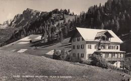 PLAN DI GARDENA-BOZEN-BOLZANO-ALBERGO=VALENTINI=-CARTOLINA VERA FOTOGRAFIA-VIAGGIATA IL 28-8-1951 - Bolzano