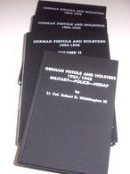 Militaria Armi Whittington German Pistols And Holsters 1968/1991 Opera Completa - Altri