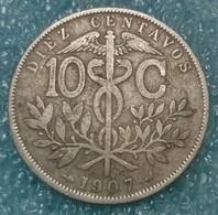 Bolivia 10 Centavos, 1907 - Bolivia