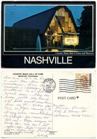 United States 1991 Postcard Nashville, Tennessee - Country Music Hall Of Fame - Nashville