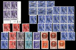 MONTREUIL-BELLAY (Maine Et Loire), Lot De 44 Exemplaires TB  Qualité: **  Cote: 422 Euros - Liberation