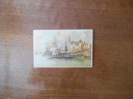 """ANTWERP BELGIUM THE """"STEEN"""" FACING THE RIVER SCHELDT  ILLUSTRATEUR - Antwerpen"""