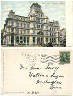 United States 1906 Postcard Boston, Massachusetts - Post Office - Boston