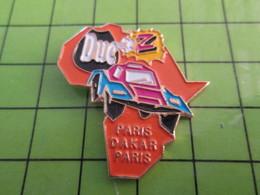 313H Pin's Pins / Beau Et Rare : Thème SPORTS / RALLYE AFRIQUE PARIS DAKAR BUGGY POULETS DUC - Car Racing - F1