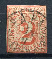 19423) HAMBURG # 3 Gestempelt Aus 1859, 130.- € - Hamburg