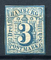 19424) HAMBURG # 4 Ungebraucht Aus 1859, 70.- € - Hamburg