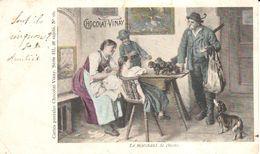 Publicité - Pub - Chocolat-Vinay - Le Marchant De Chiens - Publicité