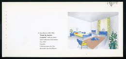 """CARTE PUB 12,5 X 27,5  - """"PROJET DE CHAMBRE ÀCOUCHER"""" JEAN ROYÈRE - Perfume & Beauty"""