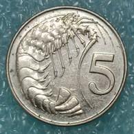 Cayman Islands 5 Cents, 2002 - Cayman Islands
