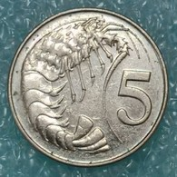 Cayman Islands 5 Cents, 2002 -1647 - Kaimaninseln