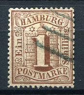 19428) HAMBURG # 11 Gestempelt Aus 1864, 22.- € - Hamburg
