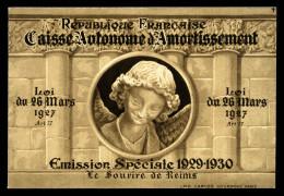 N°256-C1, Sourire De Reims, Carnet De 8 Timbres, TTB (certificat)  Qualité: ** - Carnets
