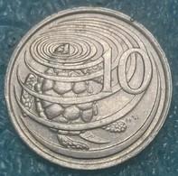 Cayman Islands 10 Cents, 1987 -4127 - Kaimaninseln