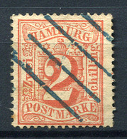 19430) HAMBURG # 13 Gestempelt Aus 1864, 30.- € - Hamburg