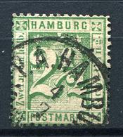 19431) HAMBURG # 14 Gestempelt Aus 1864, 45.- € - Hamburg