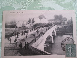 Saintes . Le Pont . Train - Saintes