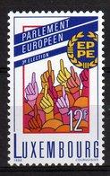 Luxembourg 1989 EUROPEAN PARLIAMENT ELECTIONS 3eme élection Du Parlement Européen MNH - Idee Europee