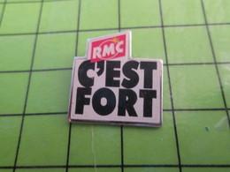 313H Pin's Pins / Beau Et Rare : Thème MEDIAS / Pour Toi Gori RMC C'EST FORT RADIO MONTE CARLO MONACO - Medias
