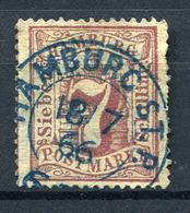 19436) HAMBURG # 19 Gestempelt Aus 1865, 20.- € - Hamburg