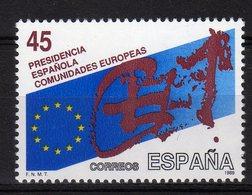 Espana Spain 1989 Spanish Presidency Of The European Community MNH - Idee Europee