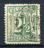 19438) HAMBURG # 22 Gestempelt Aus 1867, 100.- € - Hamburg