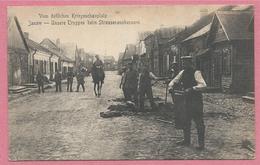 Lithuania - Lituania - Litauen - JANOW - JANAVA - Unsere Truppen Beim Strassenausbessern - Feldpost - Guerre 14/18 - Lithuania