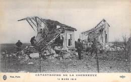 EVENEMENTS - CATASTROPHE De La COURNEUVE 15/03/1918 - CPA (4 Sur 7)  Seine St Denis (93) - Rampen