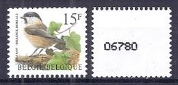 BELGIE * Buzin  Rolzegel * Nr R 82  Met NR * Postfris Xx * - Coil Stamps