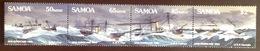 Samoa 1989 Hurricane Centenary Ships MNH - Samoa