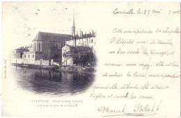 ***  54  *** LUNEVILLE  Chapelle Saint Leopold - Timbre Decollé - Luneville