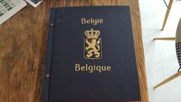 LOT 4016155 ALBUM DAVO DE BELGIQUE TIMBRE NEUF**/* OBLITERE PORT A 10 EUROS - Collections (with Albums)