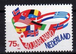 Nederland 1989 40 Ans Du Conseil De L'Europe 40th Ann. Of Council Of Europe 40 Jahre Europarat MNH - Idee Europee