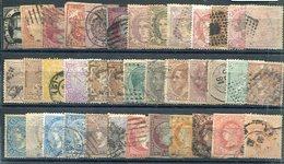 ESPAÑA   Lote De 50 Sellos  Clasicos ( 1851 Al 1882 )  Usados-264 - Spain