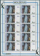 (147) 1995 Europa C.E.P.T., Minifogli Moldavia, Serie Completa Nuova (**) - Europa-CEPT