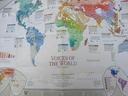 Carte Historique Et Géographique/ Voices Of The World/ Millenium In Maps/National Geographic Society/ 1999   PGC218 - Cartes