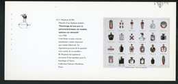 """CARTE PUB 12,5 X 27,5  - """"FLACONNAGE DE LUXE POUR LA PARFUMERIE-CRÉATION DE MODÈLES SPÉCIAUX SUR DEMANDE"""",   C. DÉPI - Unclassified"""