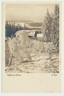 AK  Winter Im Vogtland Bei Erlbach - Erlbach-Kirchberg