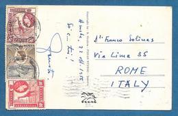 KENYA UGANDA TANGANYIKA 1955 ON CARD MASAI WOMAN - Kenya, Uganda & Tanganyika