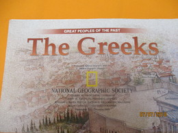 Carte Historique Et Géographique/ Ancient GREECE/Great People Of The Past/National Geographic Society/ 1999   PGC219 - Cartes